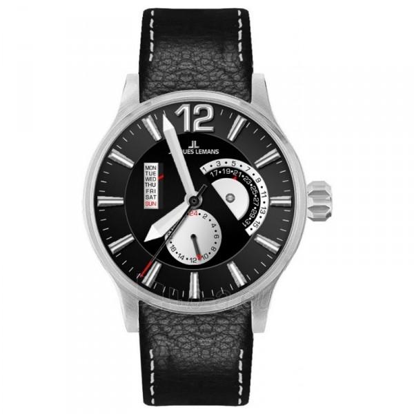Vyriškas laikrodis Jacques Lemans 1-1741G Paveikslėlis 1 iš 1 30069607596