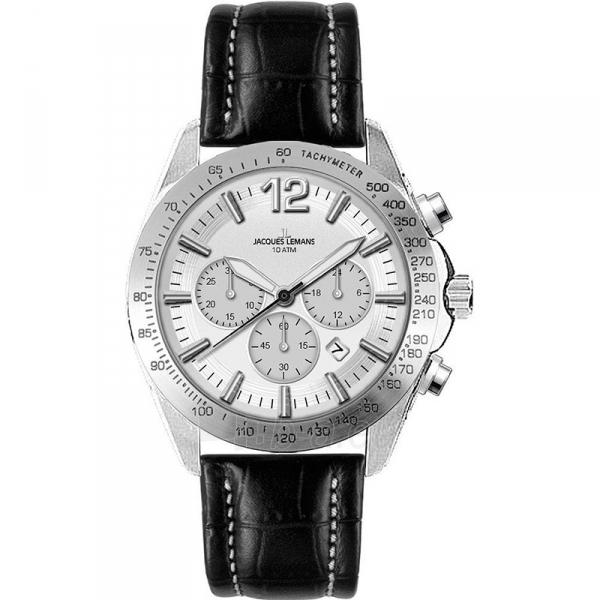 Vīriešu pulkstenis Jacques Lemans 1-1751B Paveikslėlis 1 iš 1 310820009658
