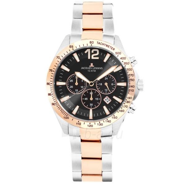 Vīriešu pulkstenis Jacques Lemans 1-1751G Paveikslėlis 1 iš 3 30069607606