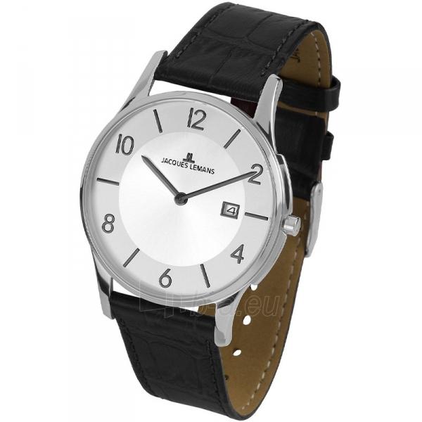Vyriškas laikrodis Jacques Lemans 1-1777E Paveikslėlis 1 iš 1 310820009657