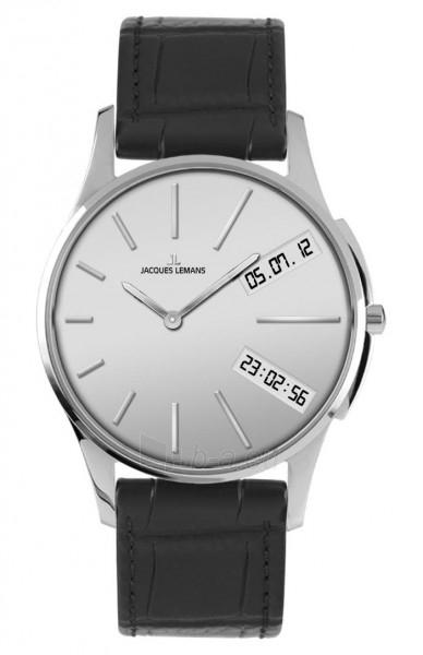 Vīriešu pulkstenis Jacques Lemans 1-1788B Paveikslėlis 1 iš 1 30069607633