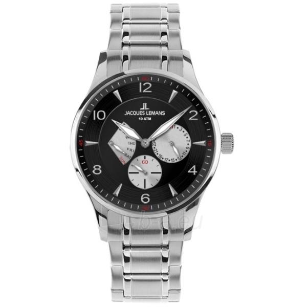 Vyriškas laikrodis Jacques Lemans 1-1827H Paveikslėlis 1 iš 1 30069607655