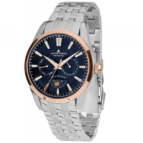 Vīriešu pulkstenis Jacques Lemans 1-1901H Paveikslėlis 1 iš 5 310820172774