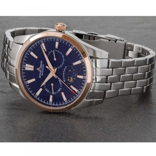 Vīriešu pulkstenis Jacques Lemans 1-1901H Paveikslėlis 5 iš 5 310820172774