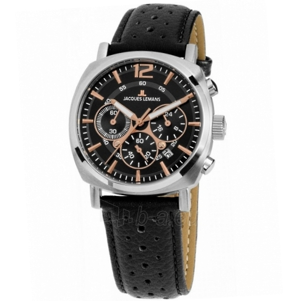 Male laikrodis Jacques Lemans 1-1931A Paveikslėlis 1 iš 8 310820053347