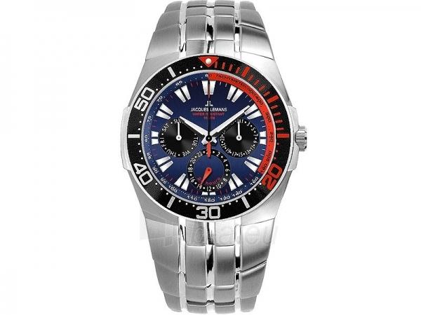 Vīriešu pulkstenis Jacques Lemans Biarritz 1-1362C Paveikslėlis 1 iš 1 30069607668