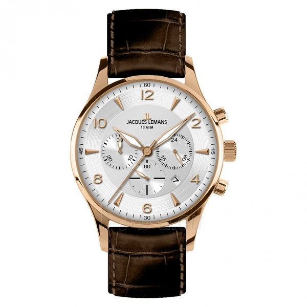 Vyriškas laikrodis JACQUES LEMANS laikrodis 1-1654H Paveikslėlis 1 iš 4 30069610842