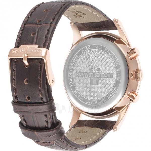Vyriškas laikrodis JACQUES LEMANS laikrodis 1-1654H Paveikslėlis 2 iš 4 30069610842
