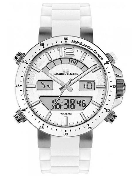 Vyriškas laikrodis JACQUES LEMANS laikrodis 1-1712B Paveikslėlis 1 iš 2 30069610843
