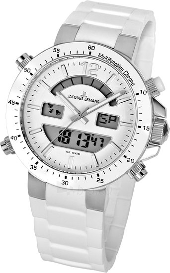 Vyriškas laikrodis JACQUES LEMANS laikrodis 1-1712B Paveikslėlis 2 iš 2 30069610843