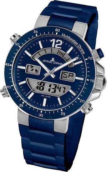 Vyriškas laikrodis JACQUES LEMANS laikrodis 1-1712C Paveikslėlis 2 iš 2 30069610844