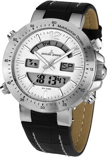 Vīriešu pulkstenis JACQUES LEMANS pulkstenis 1-1713B Paveikslėlis 2 iš 2 30069610847