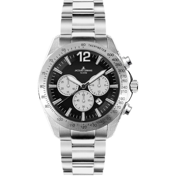 Male laikrodis JACQUES LEMANS laikrodis 1-1751E Paveikslėlis 1 iš 1 30069610850