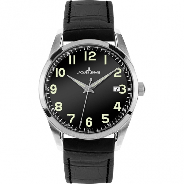 Male laikrodis JACQUES LEMANS laikrodis 1-1769A Paveikslėlis 1 iš 2 30069610851