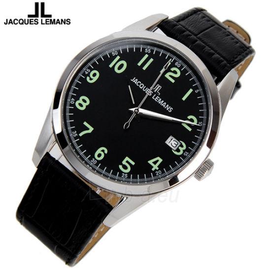 Male laikrodis JACQUES LEMANS laikrodis 1-1769A Paveikslėlis 2 iš 2 30069610851