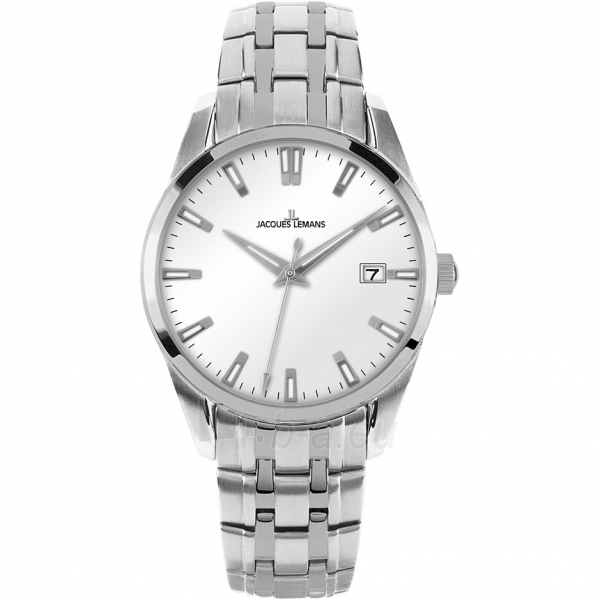 Male laikrodis JACQUES LEMANS laikrodis 1-1769I Paveikslėlis 1 iš 2 30069610852