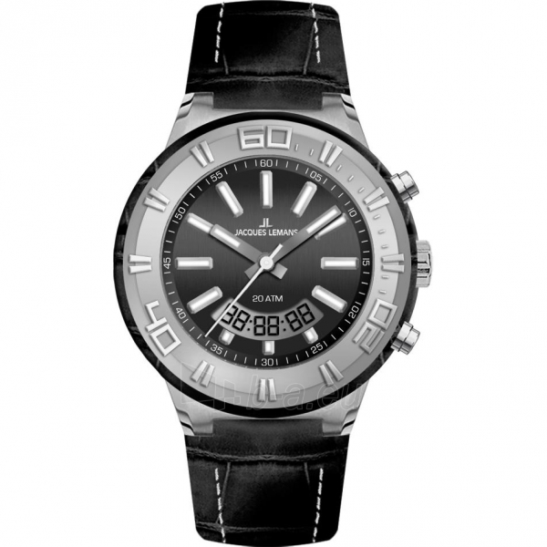 Vyriškas laikrodis JACQUES LEMANS laikrodis 1-1772A Paveikslėlis 1 iš 1 30069610853