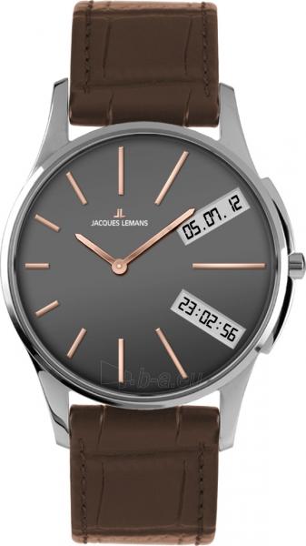 Male laikrodis JACQUES LEMANS laikrodis JL 1-1788D Paveikslėlis 1 iš 1 30069610861