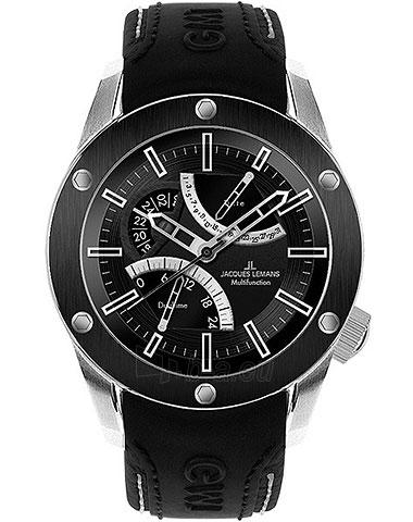 Vyriškas laikrodis Jacques Lemans Liverpool GMT 1-1634A Paveikslėlis 1 iš 1 30069607717