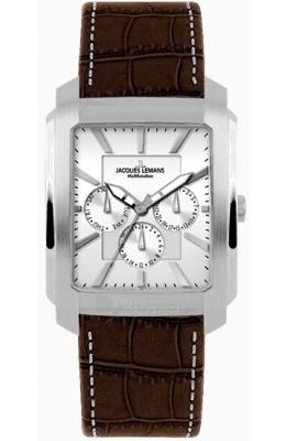 Vyriškas laikrodis Jacques Lemans Madrid 1-1463B Paveikslėlis 1 iš 1 30069607727
