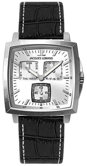 Vīriešu pulkstenis Jacques Lemans Milano 1-1474B Paveikslėlis 1 iš 1 30069607730