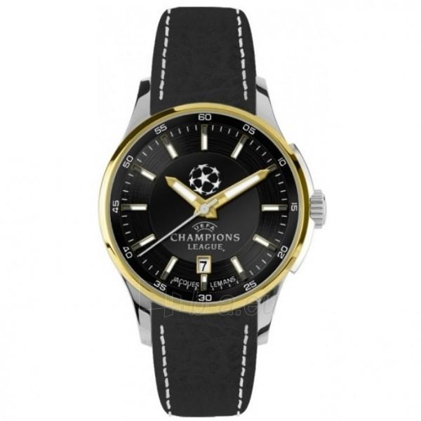 Vyriškas laikrodis Jacques Lemans UEFA U-35E Paveikslėlis 1 iš 1 30069607770