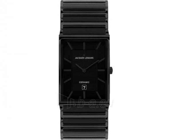 Vīriešu pulkstenis Jacques Lemans York 1-1592B Paveikslėlis 1 iš 1 30069601855