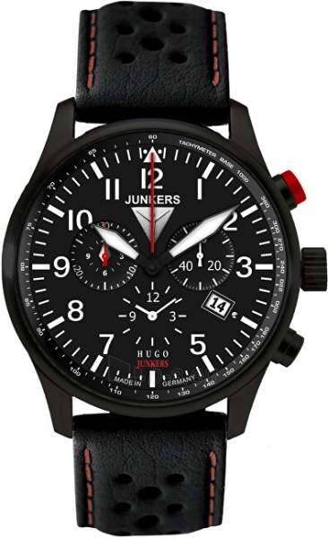 Vīriešu pulkstenis Junkers - Iron Annie HugoJunkers 6680-4 Paveikslėlis 1 iš 1 310820178627