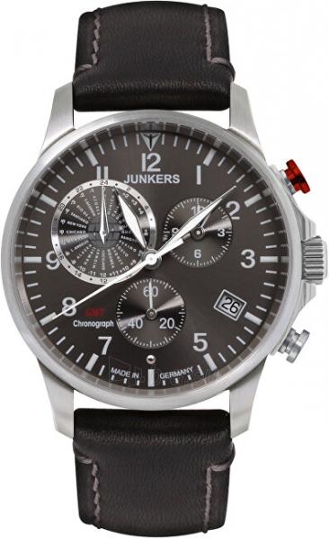 Vīriešu pulkstenis Junkers - Iron Annie Worldtimer 6892-2 Paveikslėlis 1 iš 4 310820178631