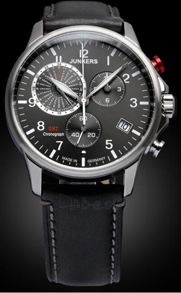 Vīriešu pulkstenis Junkers - Iron Annie Worldtimer 6892-2 Paveikslėlis 2 iš 4 310820178631