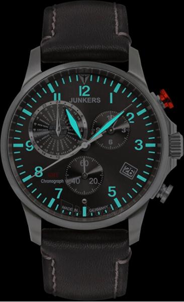 Vīriešu pulkstenis Junkers - Iron Annie Worldtimer 6892-2 Paveikslėlis 3 iš 4 310820178631