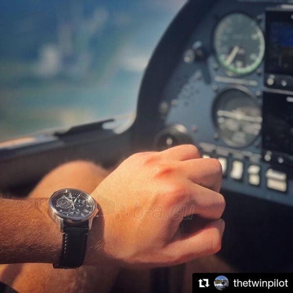 Vīriešu pulkstenis Junkers - Iron Annie Worldtimer 6892-2 Paveikslėlis 4 iš 4 310820178631