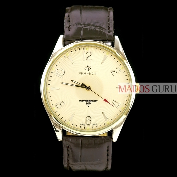 Klasisks stils Perfect pulkstenis PFC141R Paveikslėlis 1 iš 1 30069600658