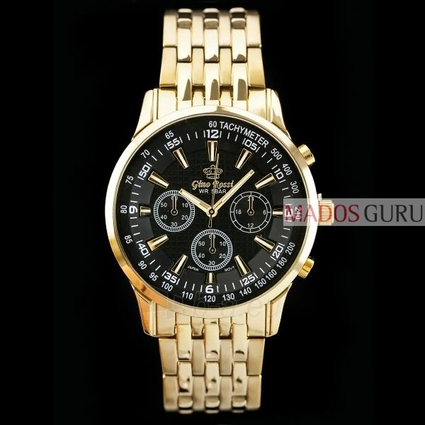 Klasisks Gino Rossi pulkstenis GR127G Paveikslėlis 1 iš 5 30069600833
