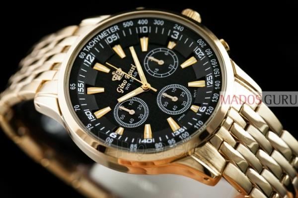 Klasisks Gino Rossi pulkstenis GR127G Paveikslėlis 3 iš 5 30069600833