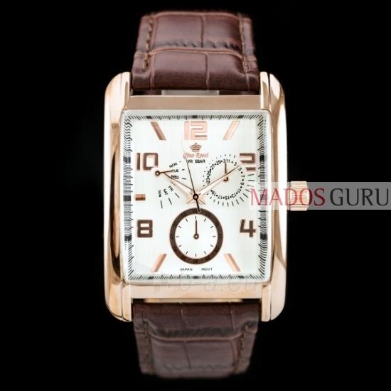 Klasisks Gino Rossi pulkstenis GR5782RB Paveikslėlis 2 iš 2 30069600842