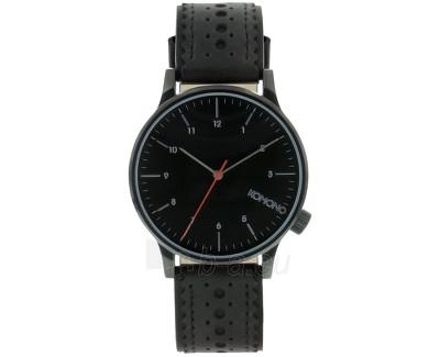 Vyriškas laikrodis Komono Winston BROGUE JET BLACK KOM-W2012 Paveikslėlis 1 iš 1 30069609798