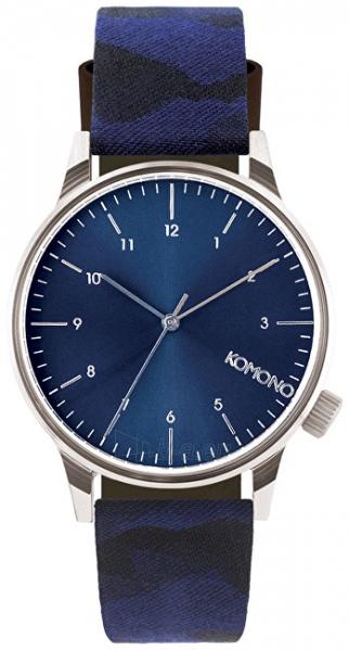 Male laikrodis Komono Winston CAMO BLUE KOM-W2167 Paveikslėlis 1 iš 4 310820102550