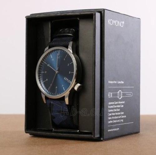 Male laikrodis Komono Winston CAMO BLUE KOM-W2167 Paveikslėlis 4 iš 4 310820102550
