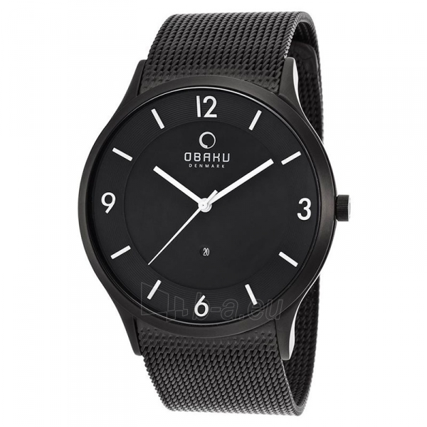 Vyriškas laikrodis OBAKU OB V132XBBMB-N Paveikslėlis 1 iš 1 310820009910