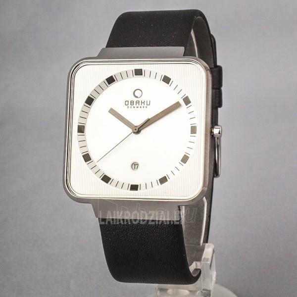 Men's watch OBAKU OB V139GCIRB Paveikslėlis 1 iš 5 30069605946