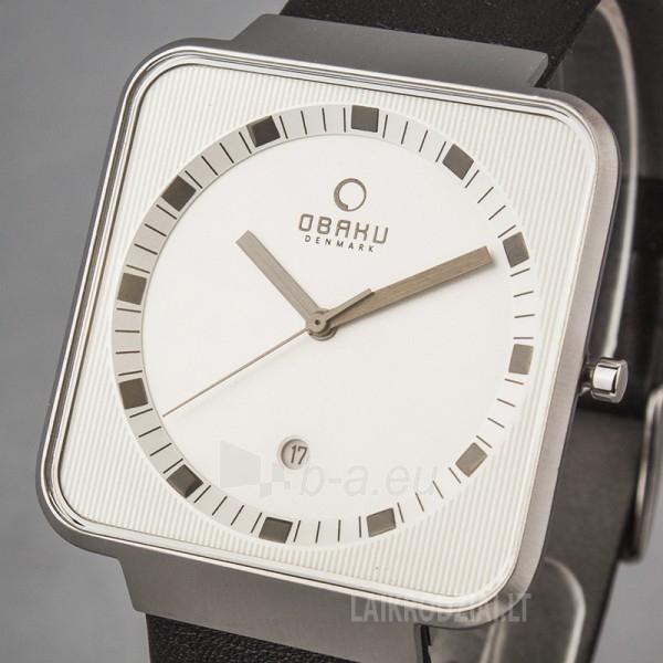 Men's watch OBAKU OB V139GCIRB Paveikslėlis 4 iš 5 30069605946
