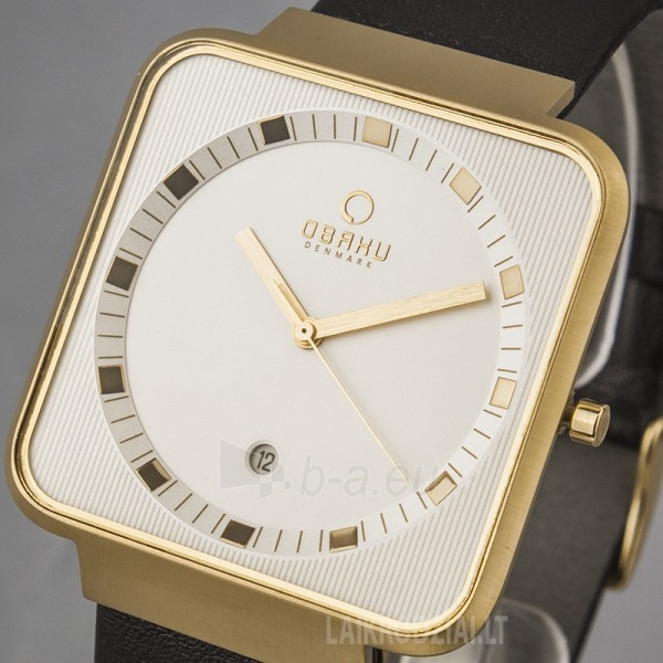 Vyriškas laikrodis OBAKU OB V139GGIRB Paveikslėlis 4 iš 5 30069605947