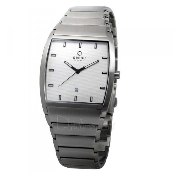 Vyriškas laikrodis OBAKU OB V142GCISC Paveikslėlis 1 iš 1 310820009912