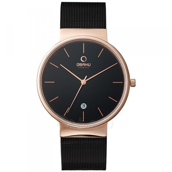 Male laikrodis OBAKU OB V153GDVBMB Paveikslėlis 1 iš 1 310820009900