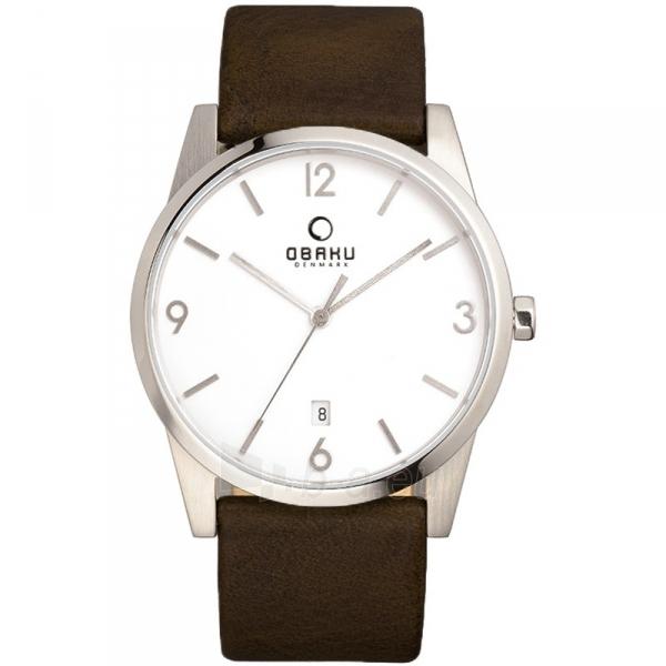 Vīriešu pulkstenis Obaku V169GDCIRN Paveikslėlis 1 iš 1 310820010055