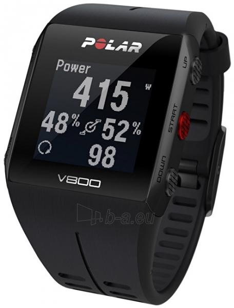 Male laikrodis Polar V800 HR černý Paveikslėlis 1 iš 10 310820136765