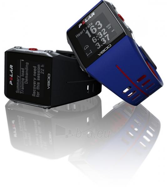 Male laikrodis Polar V800 HR černý Paveikslėlis 7 iš 10 310820136765