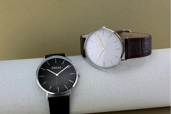 Male laikrodis Prim Klasik Slim W01P.13016.F Paveikslėlis 2 iš 4 310820135795