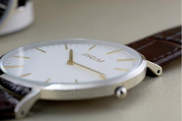Male laikrodis Prim Klasik Slim W01P.13016.F Paveikslėlis 3 iš 4 310820135795